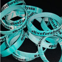 Live For Alyssa Silicone Wristband Thumbnail