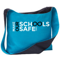 Make Our Schools Safe Canvas Sling Bag Thumbnail