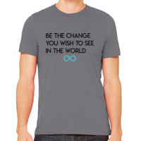 Be The Change You Wish To See In The World - Dark Print Thumbnail