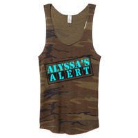 Alyssa's Alert Alternative Camo Racerback 2 Thumbnail